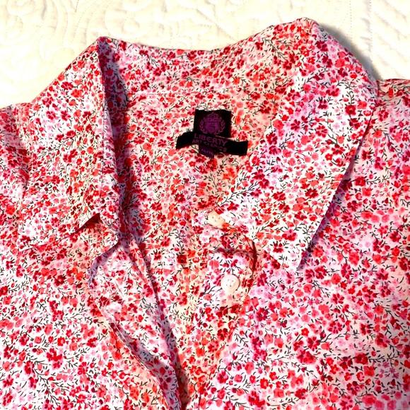 Liberty XL floral blouse long sleeve